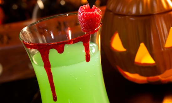 perfectly punchy halloween party drinks
